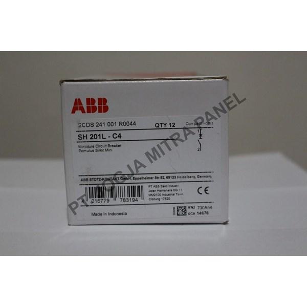 MCB / Miniature Circuit Breaker  4A 1 PHASE ABB