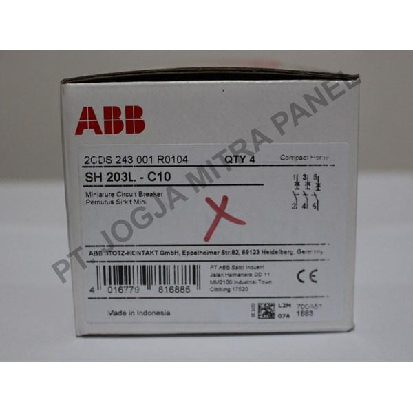 MCB / Miniature Circuit Breaker 10A 3PHASE ABB