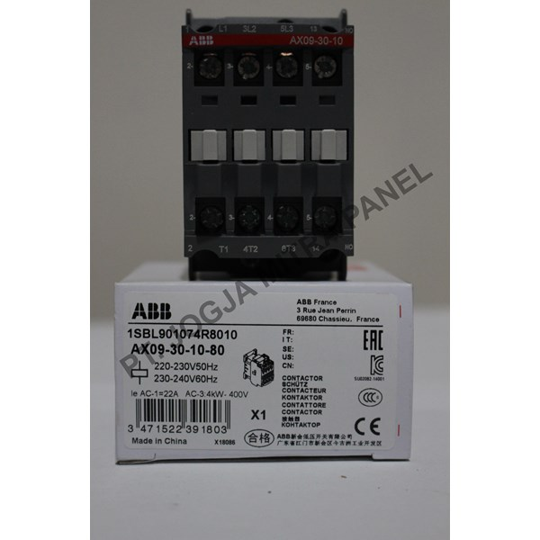 Magnetic Contactor AC AX09-30-10-80 ABB