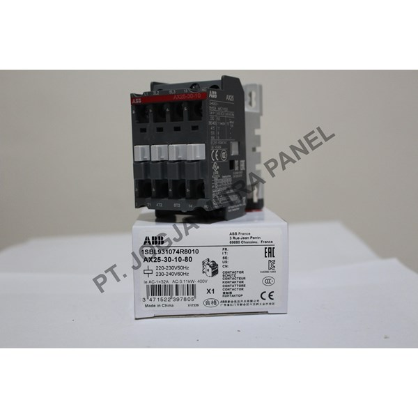 Magnetic Contactor AC AX25-30-10-80 ABB
