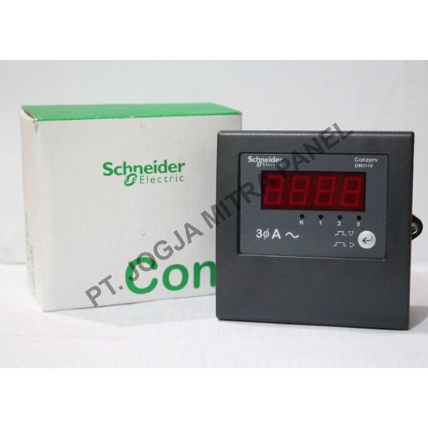 Ampere Digital Power Meter METSEDM3110