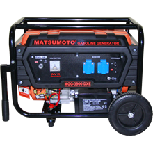 GASOLINE GENERATOR MATSUMOTO ( MGG - 8900 DXE)
