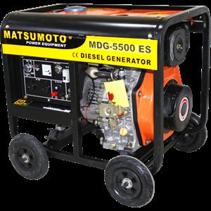 GENERATOR SUPER SILENT MATSUMOTO ( MDG - 5500 ES )