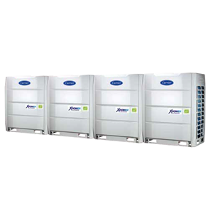 HVAC System Variable Refrigerant Flow (VRF) Carrier Size (3 HP – 88 HP)