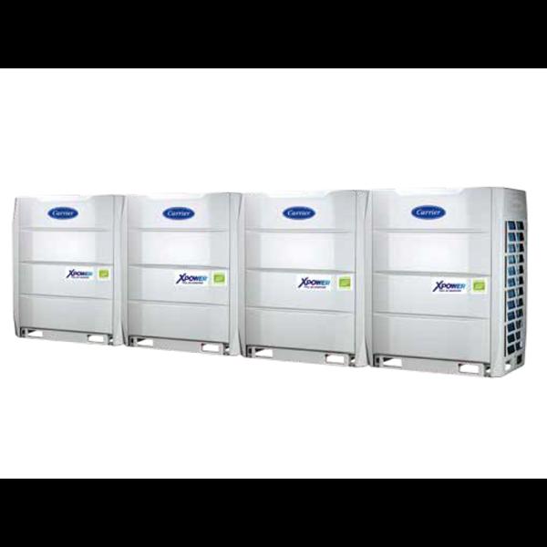 HVAC System Variable Refrigerant Flow (VRF) Carrier Size (3 HP – 88 HP)