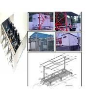 Jual Batteray Fiber Optic Tubes Panel CKD Tower