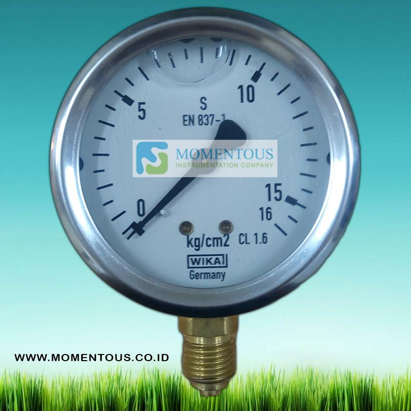 Flow Force Indonesia: Sell PRESSURE GAUGE WIKA MODEL From Indonesia By PT
