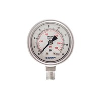 Jual Pressure Gauge Techcroft GSS-63 2