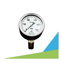 TECHCROFT GLB Series Pressure Gauge Alat Ukur Tekanan Gas dan Air
