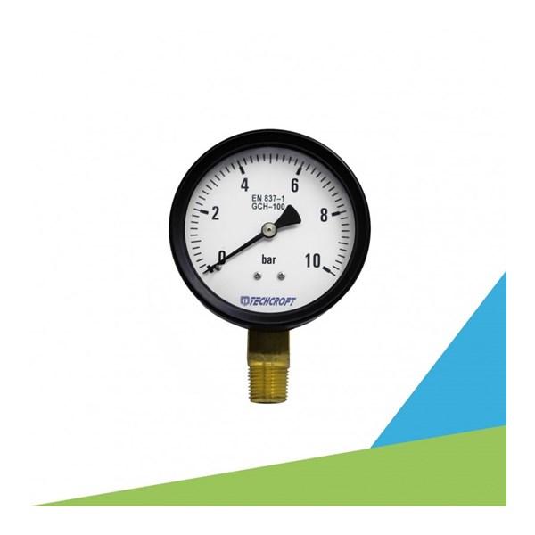 Pressure Gauge  TECHCROFT GCH Series