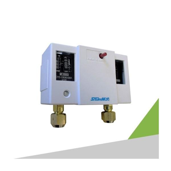 Dual Pressure Switch Pressure Gauge SAGINOMIYA DNS