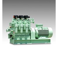 Jual TANABE OIL-LUBRICATED MARINE COMPRESSOR FOR DIESEL ENGINE STARTING