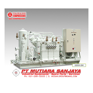 Sell TANABE Oil-Injected Gas Compressor Pressure up to 294