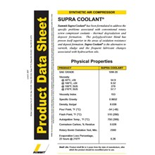 Compressor Lubricants Supra Coolant Series