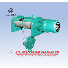KING™ Electric Wire Rope Hoist Foot Mounted Type