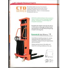 Hand Pallet Semi Electric Stacker
