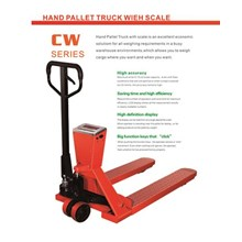 Pallet Truck With Scale Hand Pallet