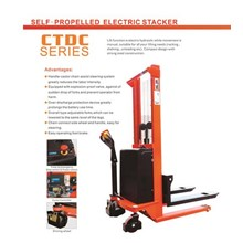 Self Propelled Electric Stacker