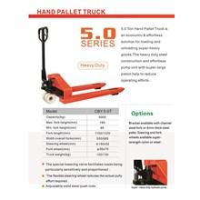 Hand pallet truck 5.0 series