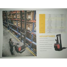 full electric stacker carlift