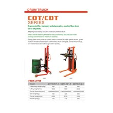 Drum Lifter Carlift COT Series