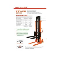 Hand Stacker CTY EH Series