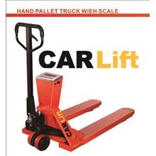 Hand pallet truck Wieh Scale