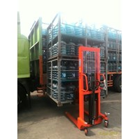Hand Stacker Carlift CTY-E
