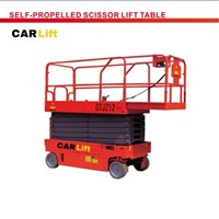 Jual Self propelled scissor lift table 2