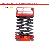 Self propelled scissor lift table 1