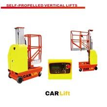 Self propelled vertical lift