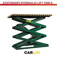 Stationary hydraulic lift table 1