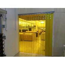 PVC Strip Curtain Kuning