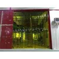 tirai plastik pvc kuning HP 0853 1003 7507