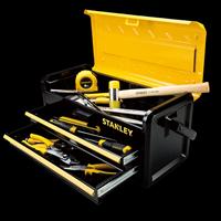 Stanley Metal Tool Box 2 Drawer