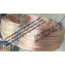 Kabel Listrik Bare Copper Grounding System Kabel BC 16mm