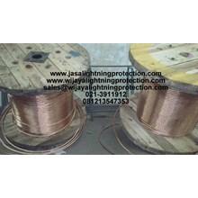 Kabel Listrik Bare Copper Grounding System Kabel BC 185mm