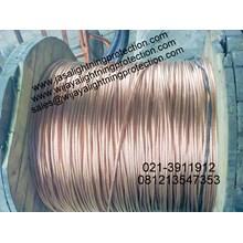 Kabel Listrik Bare Copper Grounding System Kabel BC 500mm
