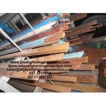 Aksesoris Listrik  Rail Copper Jalur 95mm Jasa Lightning Protection