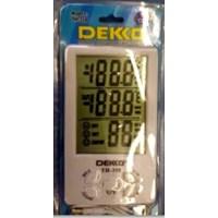 Jual Thermo Hygro Meter DEKKO TH - 358