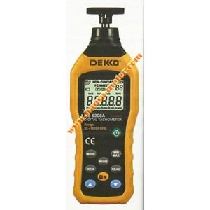 Dari Digital Tachometer Contact   Dekko 6208A 0