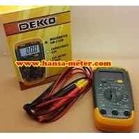 Digital Multimeter DM133D Dekko  1