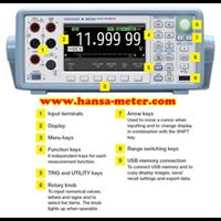 Digital Multimeter DM7560 Yokogawa 6.5 Digit  1