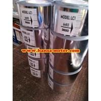 Ribbon Tape  coding foil  3x120 cm Silver
