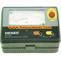 KY3165 Dekko Insulation Resistance Meter