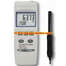 Humidity Meter Lutron YK90HT Data logger RS232