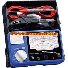 ANALOGUE INSULATION TESTER 3490 HIOKI