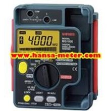 Insulation Resistance Meter SANWA MG1000