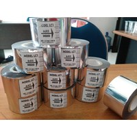 Riboon Tape Silver 3.5 x 120 cm  1