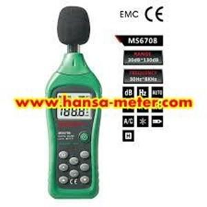 MS6702 MASTECH Alat Ukur Suara